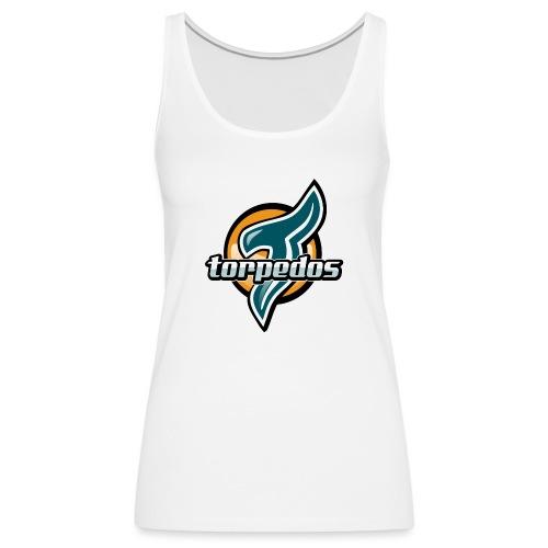 Torpedos logo - Naisten premium hihaton toppi