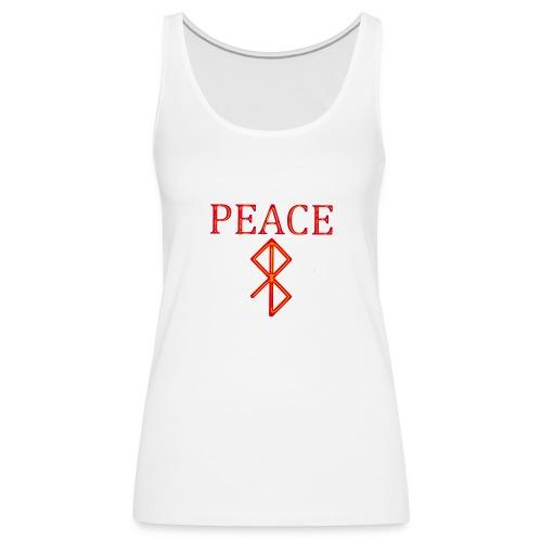 PeaceFire - Frauen Premium Tank Top