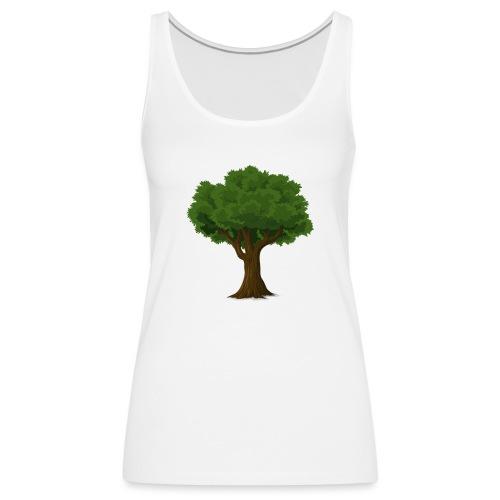 Ek träd - Premiumtanktopp dam