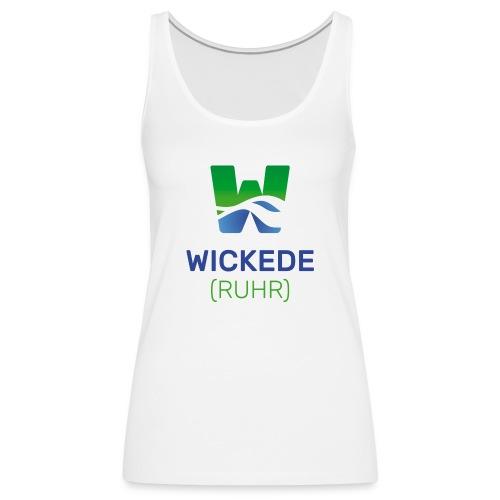 Wickede Logo farbig - Frauen Premium Tank Top