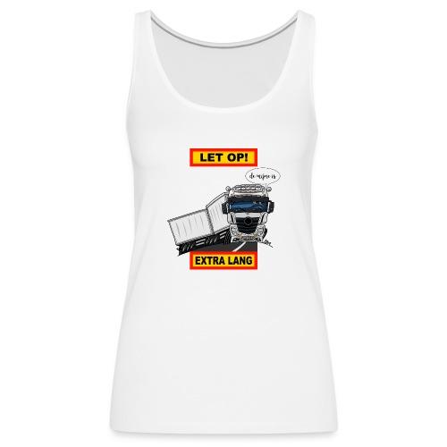 0850 extra lang - Vrouwen Premium tank top