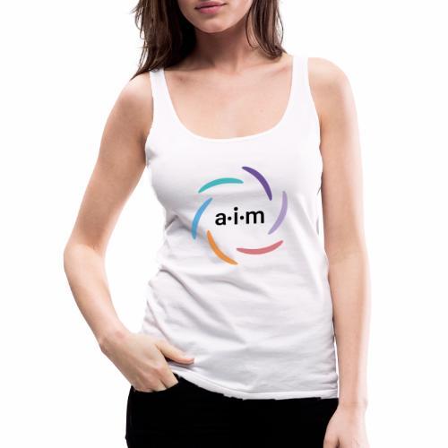 AIM Logo farbig - Frauen Premium Tank Top