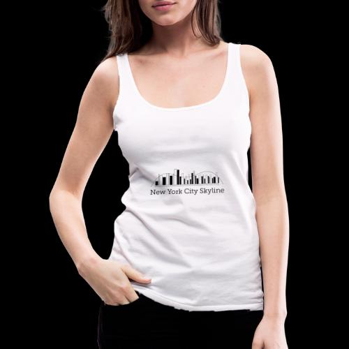 ny skyline - Women's Premium Tank Top