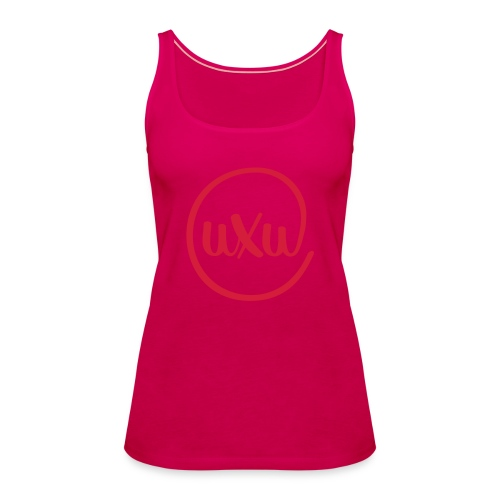 UXU logo round - Women's Premium Tank Top