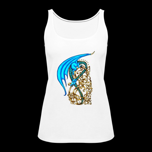 Celtic Dragon - Women's Premium Tank Top