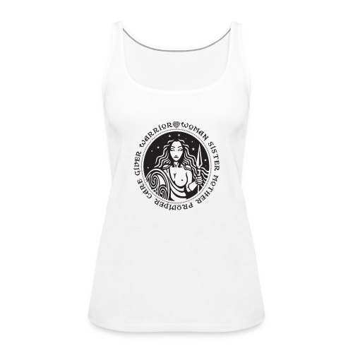 Woman Warrior - Women's Premium Tank Top