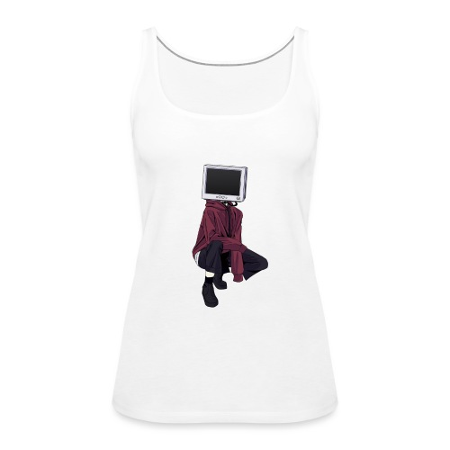 MonitorHead 2 - Women's Premium Tank Top