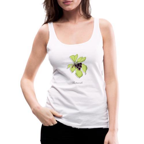 Disegno pianta di bacche - Canotta premium da donna