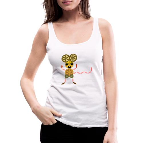 The Mouse Of Life - Sacred Animals - Women's Premium Tank Top