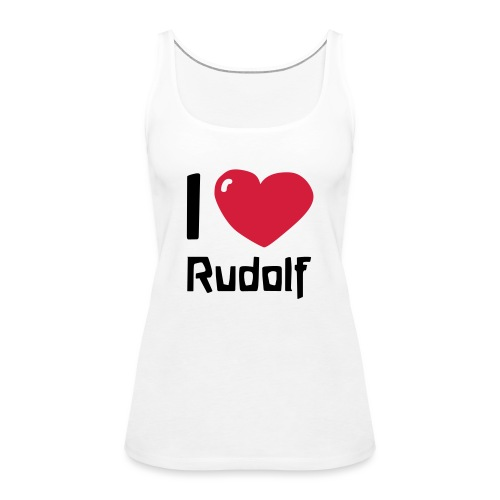 I love Rudolf - Frauen Premium Tank Top