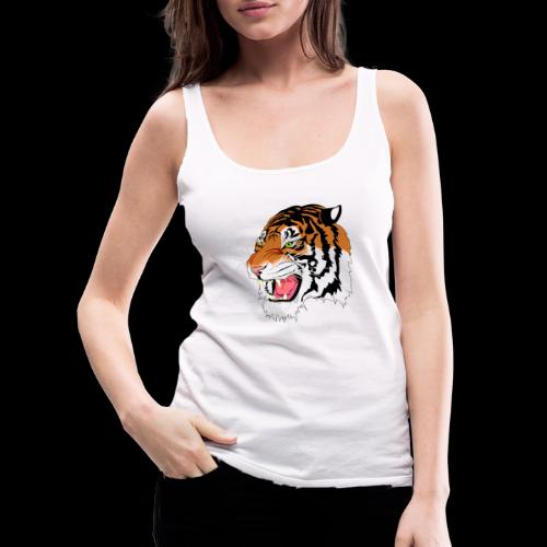 Sumatra Tiger - Frauen Premium Tank Top