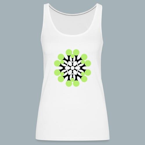 Floral Shirt Long Sleeved - Vrouwen Premium tank top