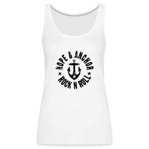 Hope & Anchor - Rock´n´Roll - Frauen Premium Tank Top