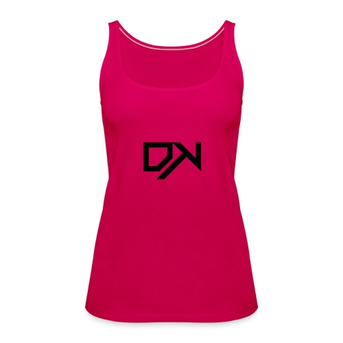 DewKee Logo T-Shirt Black - Women's Premium Tank Top