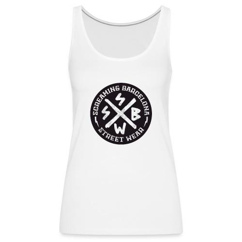 BASIC LOGO SWEATSHIRT BLACK - Camiseta de tirantes premium mujer
