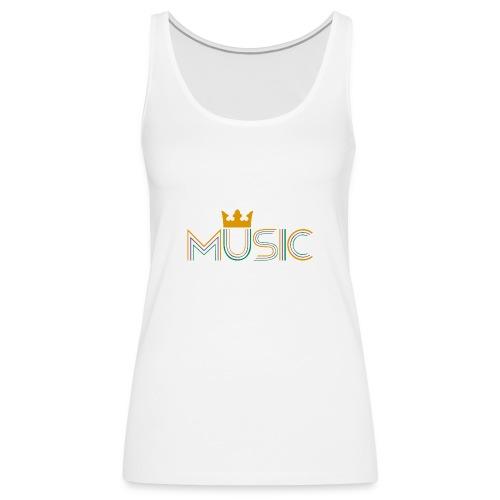 Music Bag - Camiseta de tirantes premium mujer