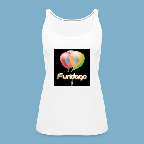 Fundago Ballon - Frauen Premium Tank Top