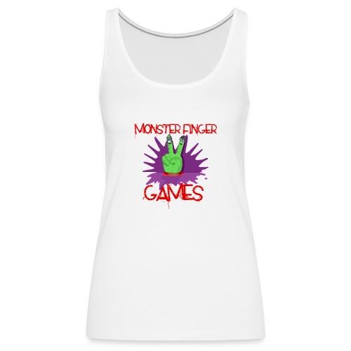 Monster Finger Games Logo - Women's Premium Tank Top