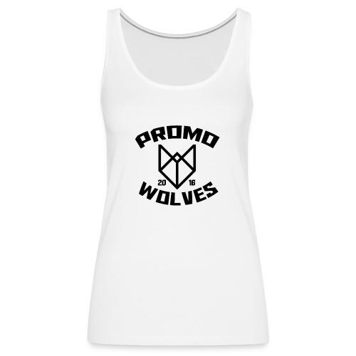 Big Promowolves longsleev - Vrouwen Premium tank top