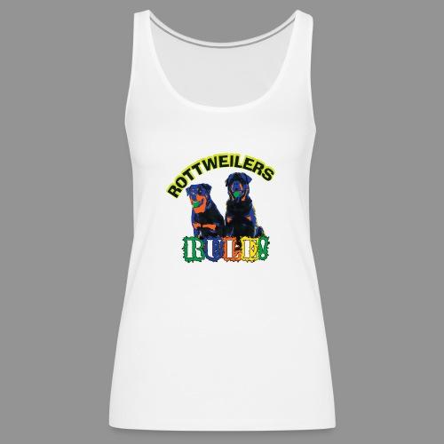 Rottweiler - Women's Premium Tank Top