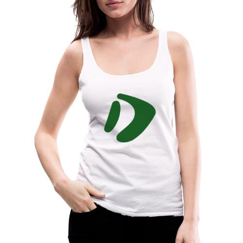 Logo D Green DomesSport - Frauen Premium Tank Top