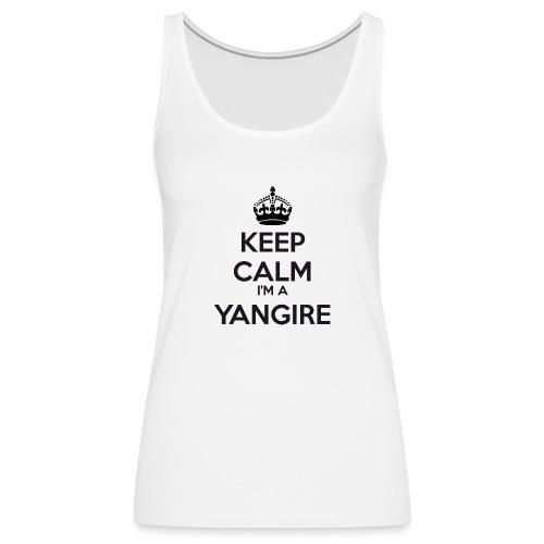 Yangire keep calm - Women's Premium Tank Top