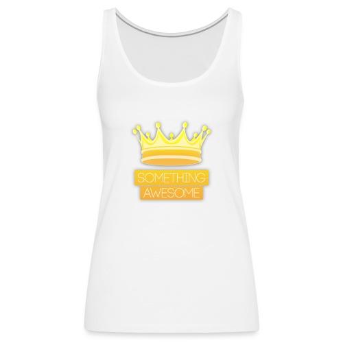 Golden logo - Women's Premium Tank Top