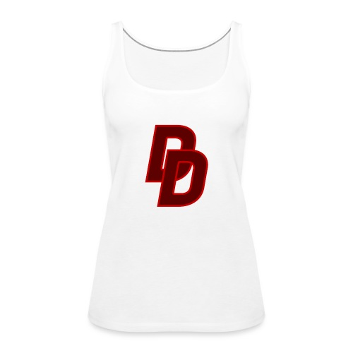 Daredevil Logo - Women's Premium Tank Top