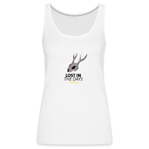 crane sky visu t shirt2 png - Débardeur Premium Femme