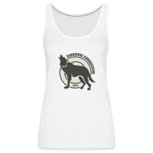 Fleischfresser - Grillshirt - Der mit dem Wolf heu - Frauen Premium Tank Top