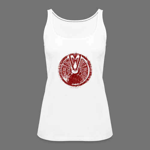 Maschinentelegraph (red oldstyle) - Women's Premium Tank Top