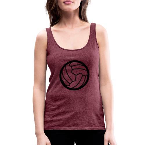 I <3 football! - Débardeur Premium Femme