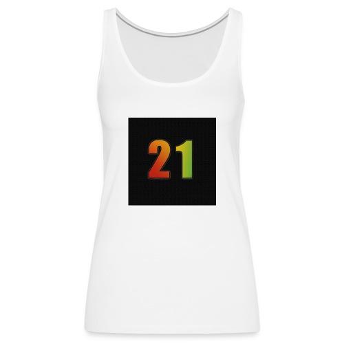 21 Hoody - Frauen Premium Tank Top