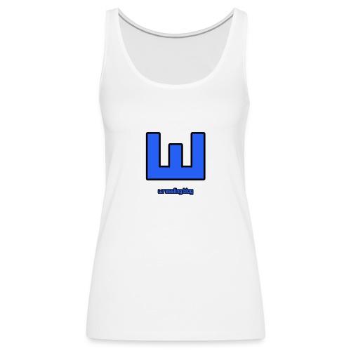 NEW Wressling Logo - Women's Premium Tank Top