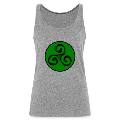 Triskel and Spiral - Camiseta de tirantes premium mujer