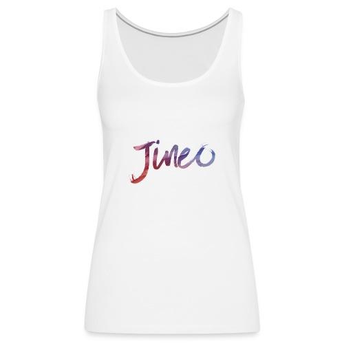 Logo Jineo - Débardeur Premium Femme