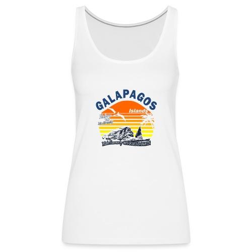 Galapagos Islands - Women's Premium Tank Top
