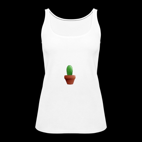 CartoonCacti! - Women's Premium Tank Top