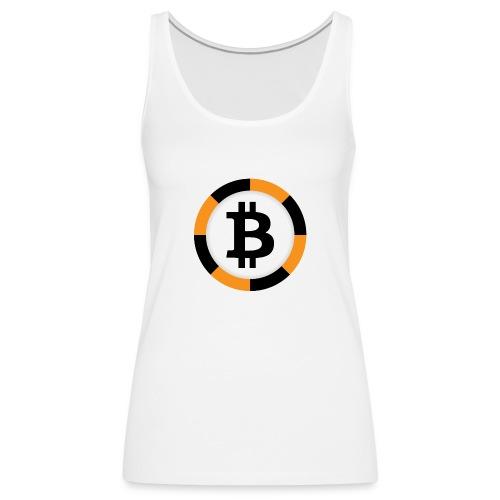 Bitcoin Poker - Camiseta de tirantes premium mujer