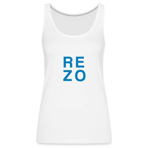 Rezo for president - Frauen Premium Tank Top