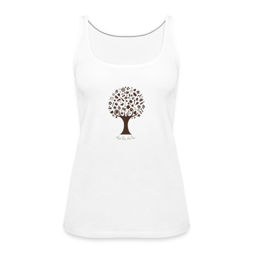 Plant Tree Feel Free - Frauen Premium Tank Top