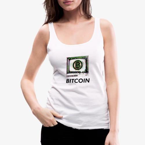 bitcoin Glitch - Frauen Premium Tank Top