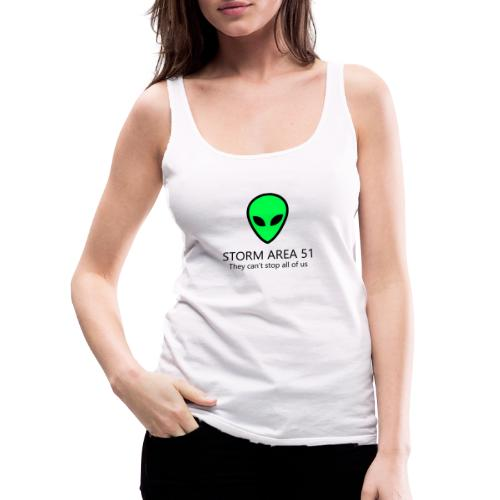 area51 - Women's Premium Tank Top