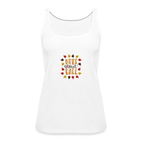 Nuts about fall - Frauen Premium Tank Top