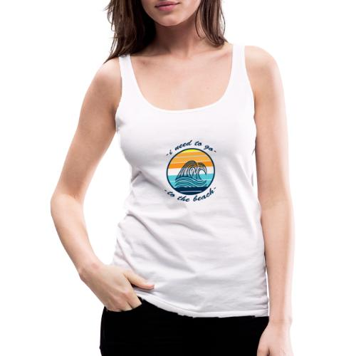 Beach Vibes - Frauen Premium Tank Top