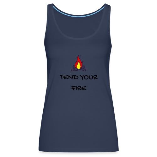 tendyourfire black 1 - Frauen Premium Tank Top