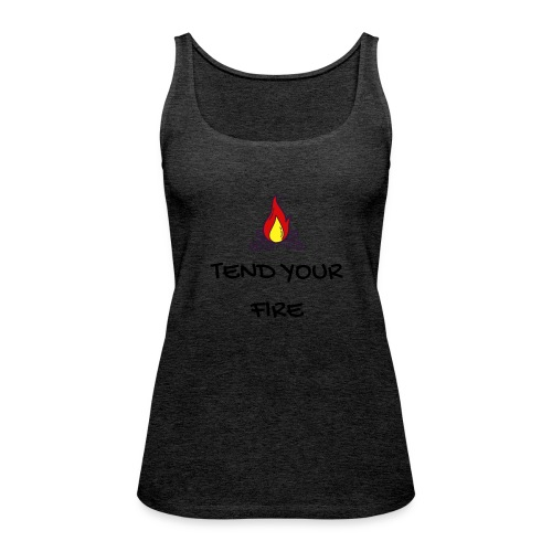 tendyourfire black 1 - Frauen Premium Tank Top