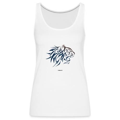 tiger vector - Camiseta de tirantes premium mujer