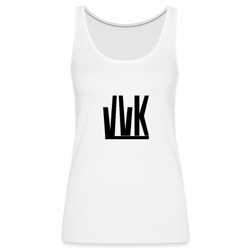 VVK logo noir - Débardeur Premium Femme