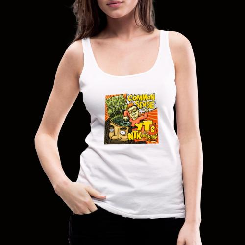 Common Sense Artwork - Women's Premium Tank Top